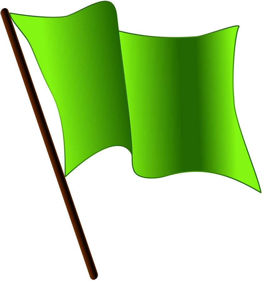 Grönflagg