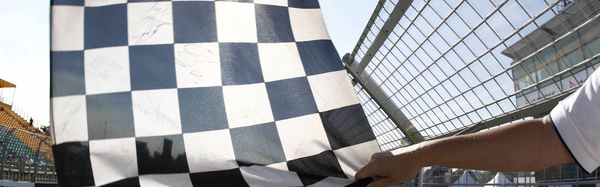 Checkered flagg