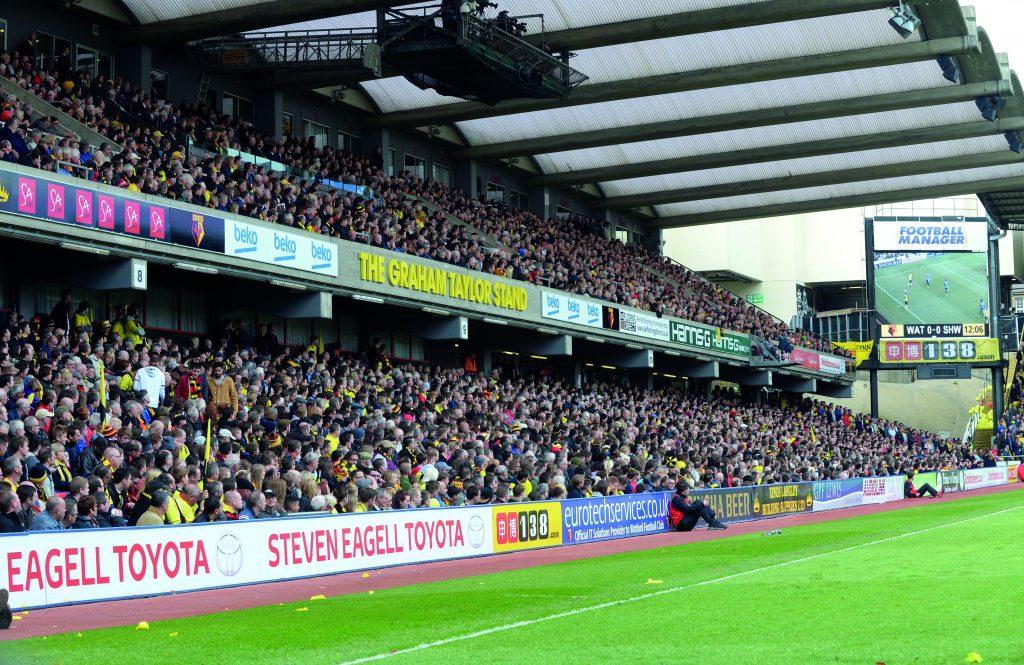 Watford Graham Taylor Stand