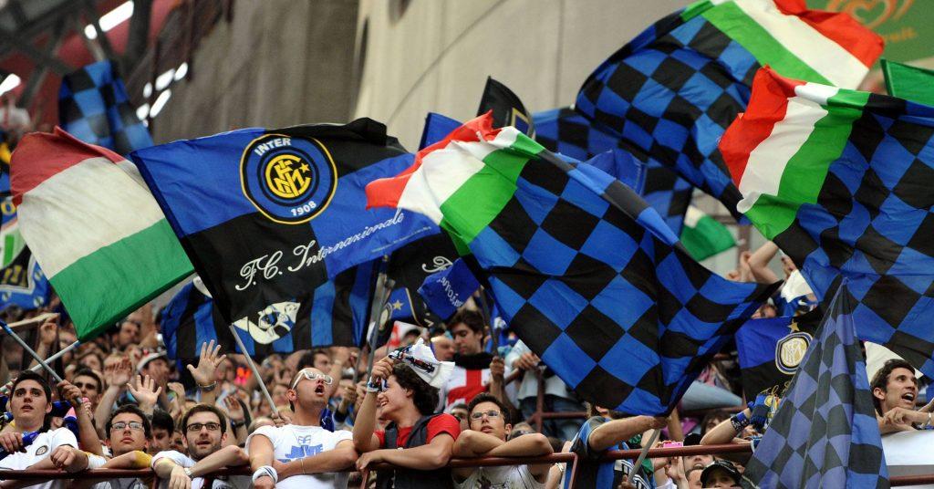 Inter fans San Siro