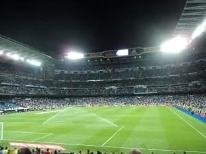 Real Madrid Santiago Bernabéu Stadium